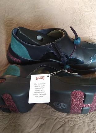 Новые кожаные кроссовки camper ботинки кожа ultralight кэмпер6 фото