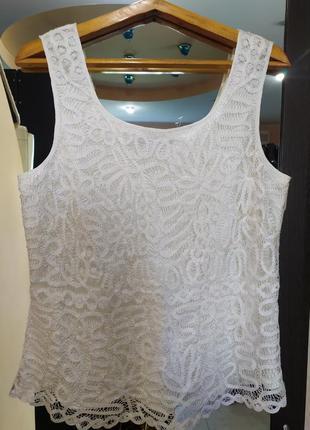 Windsmoor топ - блуза из вискозного кружева  2xl