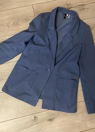 Синий пиджак divided