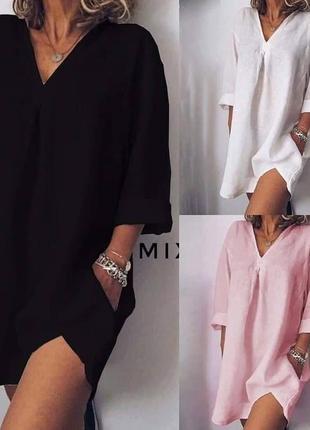 Сукня-туніка. різні кольори. розміри від 24 до 70