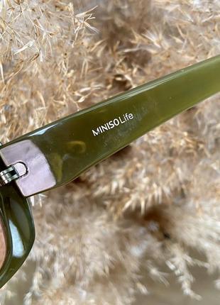 Очки солнечные от miniso ( есть нюанс )3 фото