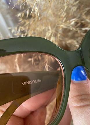 Очки солнечные от miniso ( есть нюанс )5 фото
