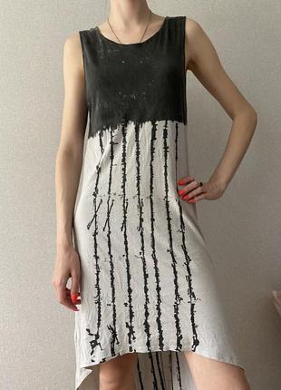 Стильное платье в стиле гранж h&m