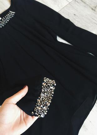 Невероятно красивая блуза с камнями