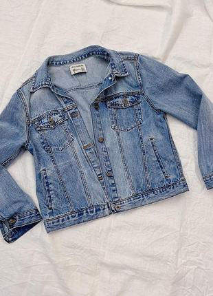 Джинсовая курточка pull & bear