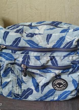 Leisijiani, сумка в стиле kipling, с листьями через плечо.