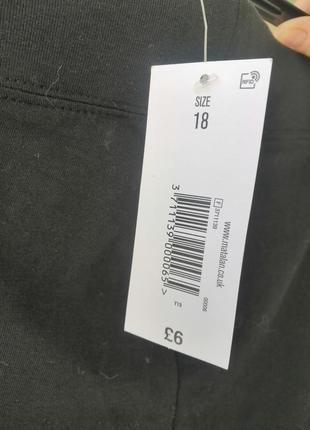 Лосіни чорного кольору розмір виробника 18,нові з біркою 👖4 фото