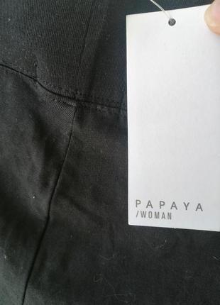Лосіни чорного кольору розмір виробника 18,нові з біркою 👖5 фото