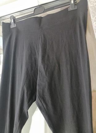 Лосіни чорного кольору розмір виробника 18,нові з біркою 👖3 фото