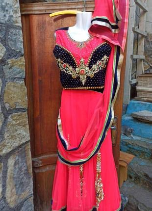 Сари костюм индия