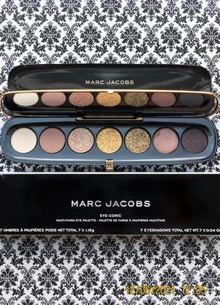 Уценка палетка теней для век marc jacobs eye conic extravagance gold eyeshadow palette