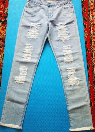 Летние коттоновые штаны,джинсы