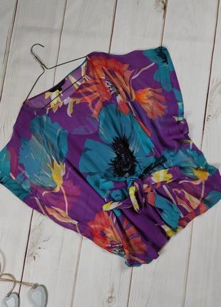 Блуза шелковая свободного кроя оригинал coast uk 10/38/s