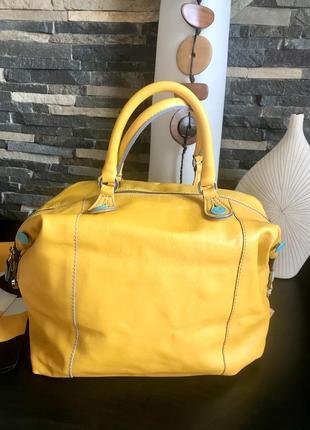 Обалденная кожаная сумка трансформер бренда gabs . италия 🇮🇹