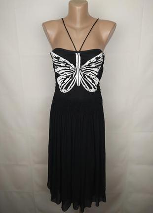 Платье шикарное шелковое оригинальное marc cain uk 10/38/s