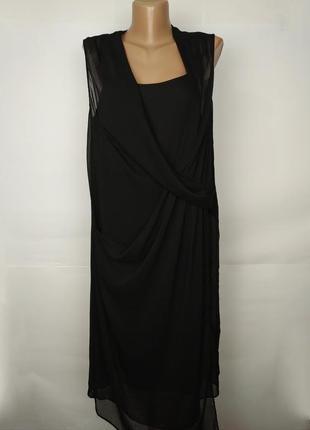 Платье новое легкое красивое на запах river island uk 12/40/m