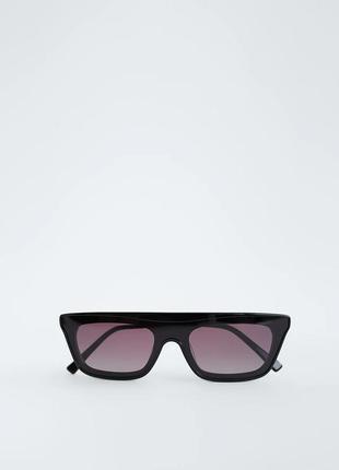 Очки солнцезащитные с чехлом zara