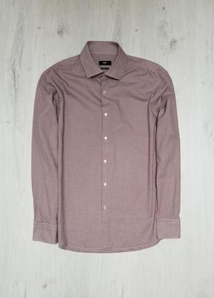Стильная фирменная рубашка hugo boss оригинал