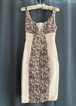 Дизайнерское платье- футляр
