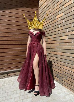 Продам шикарное выпускное вечернее платье