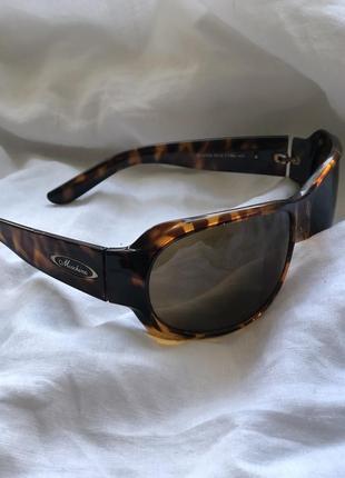 Винтажные очки moschino, леопардовые очки, солнцезащитные очки