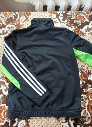 Оригінальна спортивна кофта adidas для хлопчика2 фото