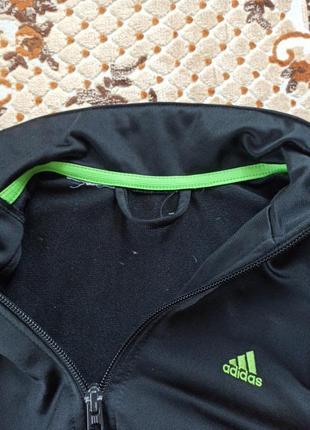 Оригінальна спортивна кофта adidas для хлопчика3 фото