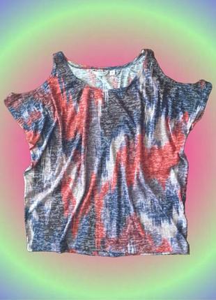 Блуза у стилі диско з відкритими плечима