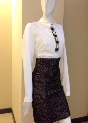 Шерстяная юбка zara