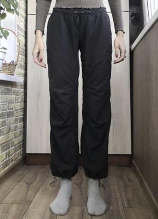 Широкие штаны брюки карго джоггеры