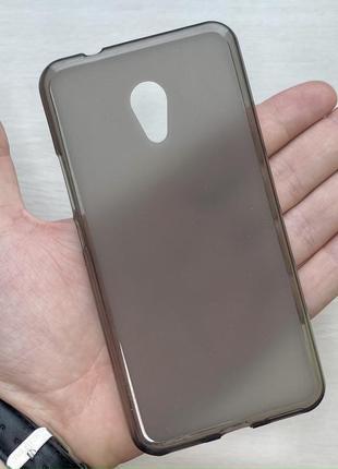 Силиконовый черный чехол на для мейзу м5с meizu m5s