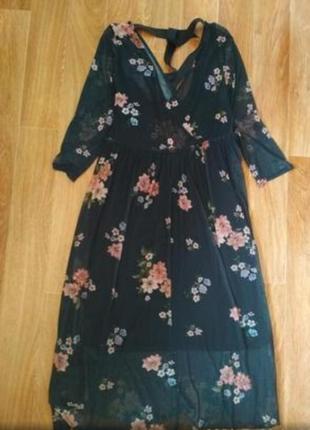 Красивые платье сетка1 фото