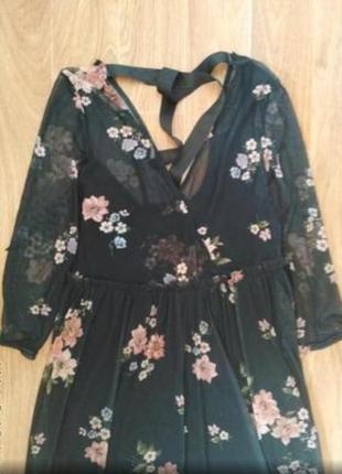 Красивые платье сетка2 фото