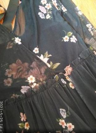 Красивые платье сетка3 фото