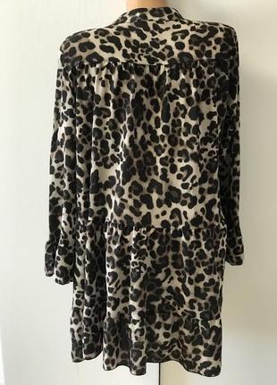 Платье, туника леопард.2 фото