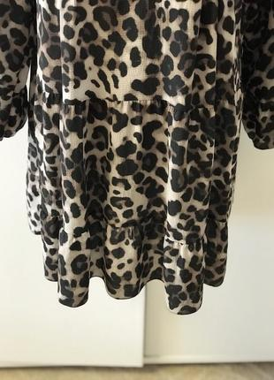 Платье, туника леопард.3 фото