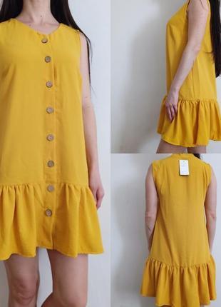 Новое лёгкое летнее платье