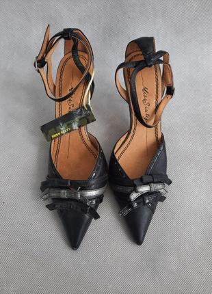 Кожаные босоножки туфли miss sixty