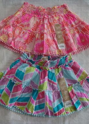 Летняя юбка  sonoma  на 3-4 года