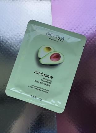 Маска тканевая для лица bioaqua с авокадо