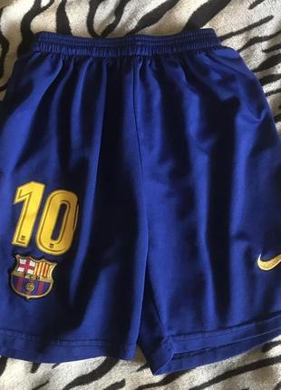 Футбольные шорты барселона barcelona lionel messi месси