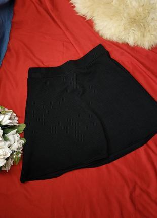 Черная юбка-мини (м)