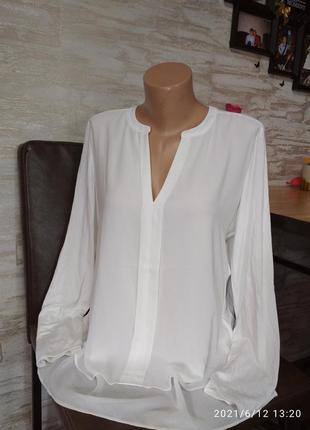 Шикарная, нарядная блуза, шифон+вискоза в идеале!!!