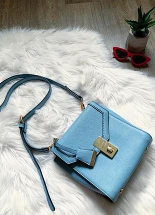Нежная голубая маленькая сумочка 😍