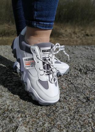 Стильні жіночі кросівки !!! на повномірні р-ри 36-384 фото