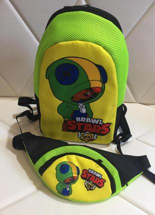 Бравл старс рюкзак и бананка brawl stars