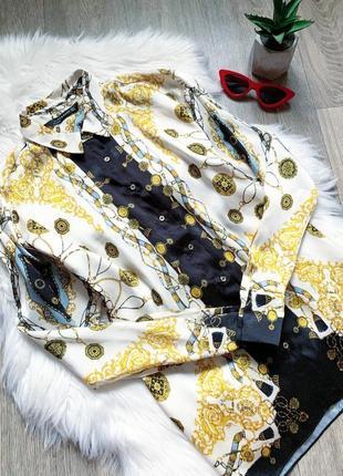 Шикарная рубашка с орнаментом от zara 😍