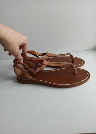 Кожаные сандалии босоножки босоніжки продано