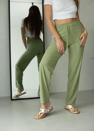 Женские штаны рубчик