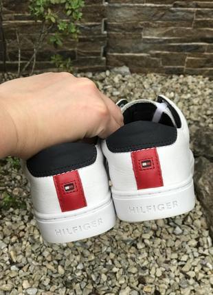 Оригинальные кожаные кроссовки tommy hilfiger 37-38р.6 фото